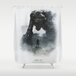 Hail to King Shower Curtain