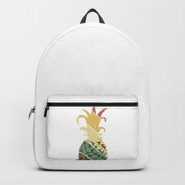 Vintage Retro Pineapple Summer Hipster Gift Backpack