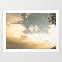 celestial Art Prints featuring Celestial by Em Beck