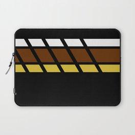Team Colors...Beige,brown Laptop Sleeve