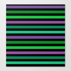Horizontal bright stripes Canvas Print