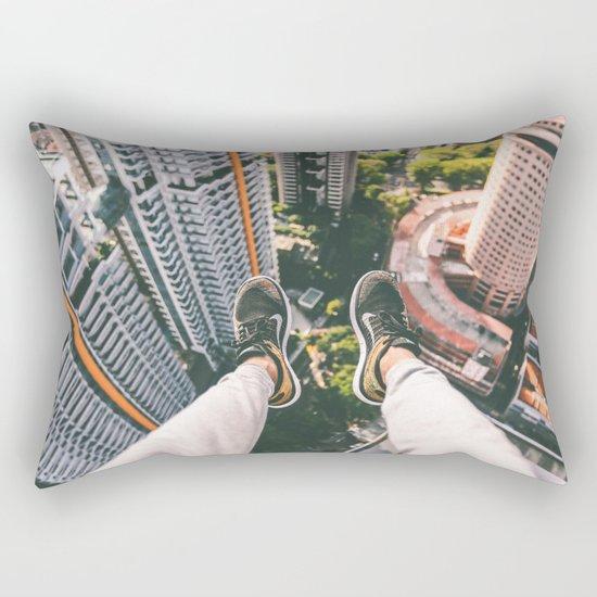 view high above top 5 Rectangular Pillow