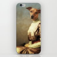 bambi iPhone & iPod Skins featuring Bambi by Martine Roch