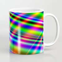 bands Mugs featuring Bands of Beauty by Sartoris ART