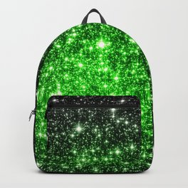 galAxy. Stars Lime Green Backpack
