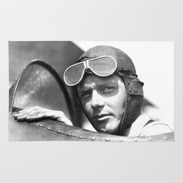 Charles Lindbergh - © Doc Braham; All Rights Reserved. Rug