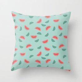 Melon Love Throw Pillow
