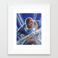 deathstroke Framed Art Prints featuring Terror of the Titans by KuddlyFatality