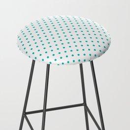 Dots (Eggshell Blue/White) Bar Stool