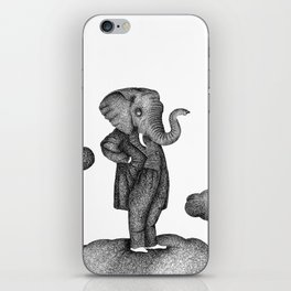 King of the world iPhone Skin