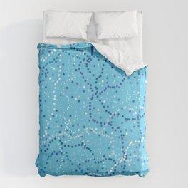 Milk Way Sky Blue Duvet Cover