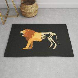 Lion Life-Death Rug