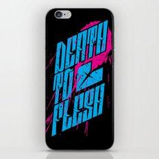 Death to Flesh iPhone & iPod Skin