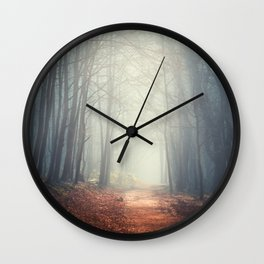the quiet path Wall Clock