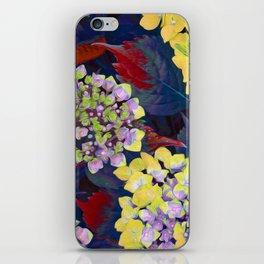 Hydrangea Yellow iPhone Skin