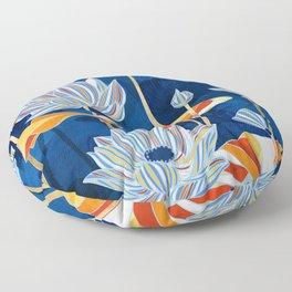 Bold Botanical Floor Pillow
