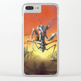 A Shocker on Shock Street Clear iPhone Case