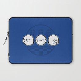 Boo No Evil Laptop Sleeve