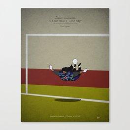Renè Higuita Canvas Print