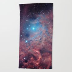 Nebula Beach Towel