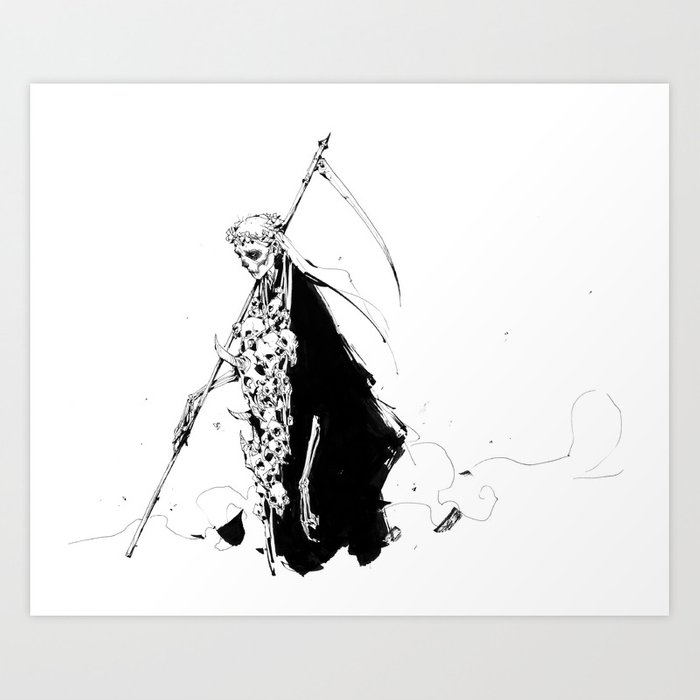 The Reaper Art Print