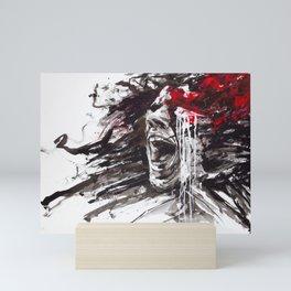 The Pain of Cluster Headache Mini Art Print