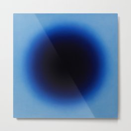 Fabrizius2 - Untitled (Spot Black in Ultramarine) Metal Print