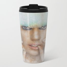 The Lady Metal Travel Mug