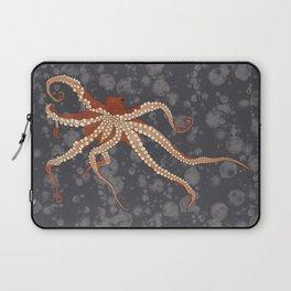 Rad Orange Octopus Laptop Sleeve