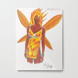 Fyre faerie Metal Print