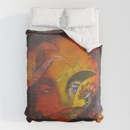 Estudio de un rostro Comforters