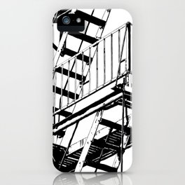 #inktober2016:escape iPhone Case