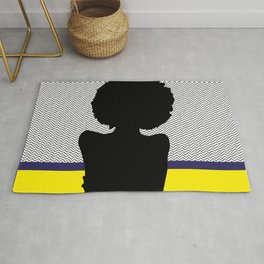 African Woman 6 Rug