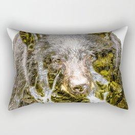 Waterfall Bear Rectangular Pillow