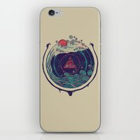 water iPhone & iPod Skins featuring Water by Hector Mansilla