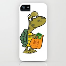 Turtle Time Grind iPhone Case