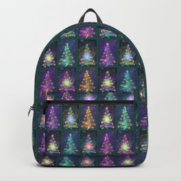Christmas greetings from the cosmos Backpack