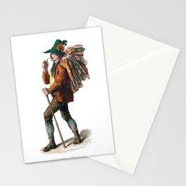 Parisian Carpet Vendor Stationery Cards