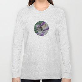Humming Bird in Flight Long Sleeve T-shirt