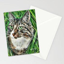 Prince Charmer Tabby Cat Portrait Stationery Cards