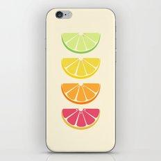 Half Citrus iPhone & iPod Skin