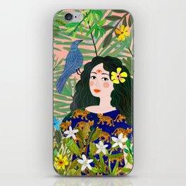 Boho Lady iPhone Skin