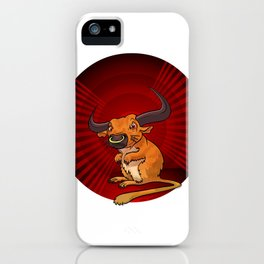 Mutant Zoo - Gerbull iPhone Case