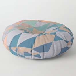Circles and Triangles Floor Pillow