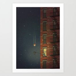 A Special Gift Art Print