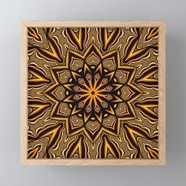 Elixir kaleidoscope Framed Mini Art Print
