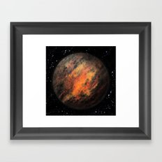 Planet X Framed Art Print