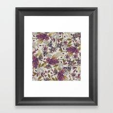 Dreaming Florals Framed Art Print