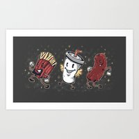 Let's All Go To The Show-Show Art Print