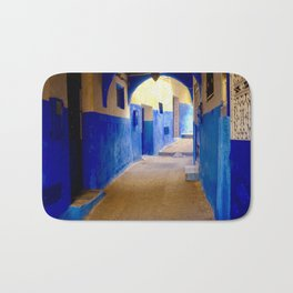Tangier Morocco Medina Bath Mat